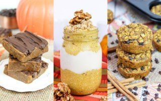 Healthy Pumpkin recipes for fall