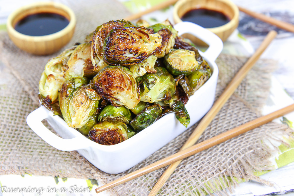 Roasted Teriyaki Brussels Sprouts recipe
