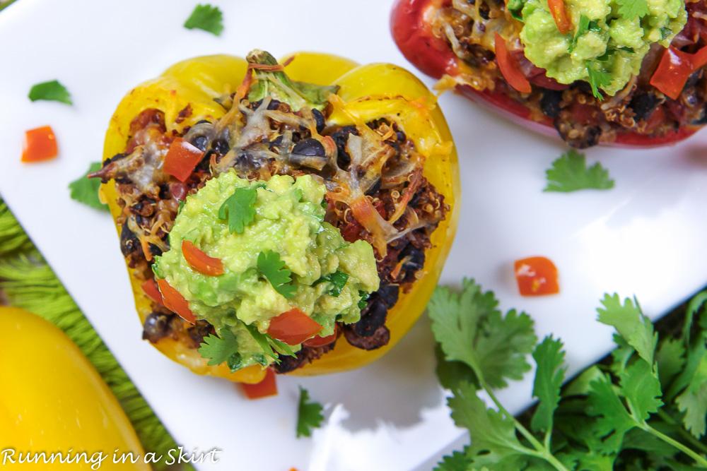 Vegetarian Mexican Stuffed Pepper recipe