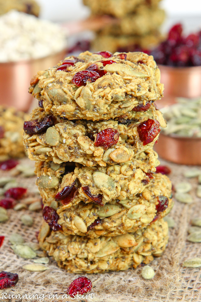 Pumpkin Superfood Cookies recipe