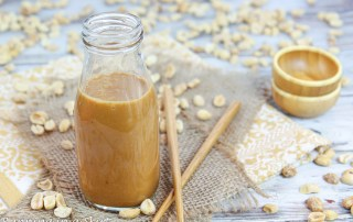 Healthy Thai Peanut Salad Dressing recipe
