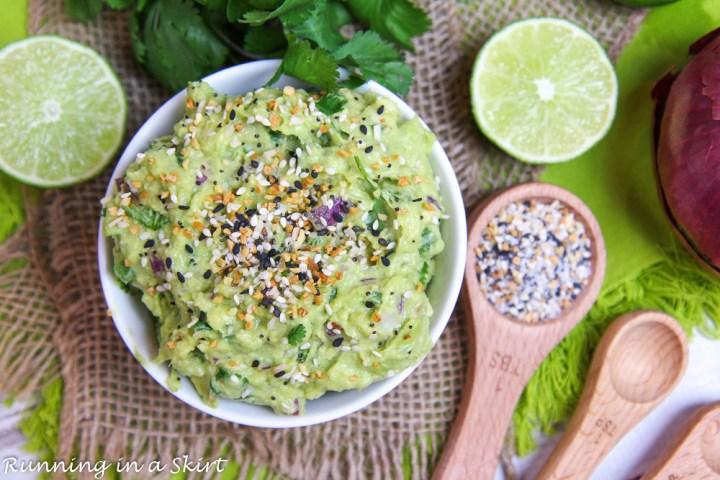 Everything Bagel Guacamole recipe