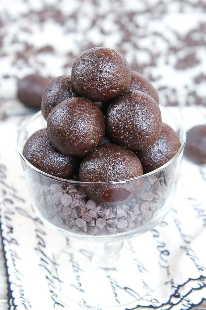 No Bake Brownie Bites Recipe