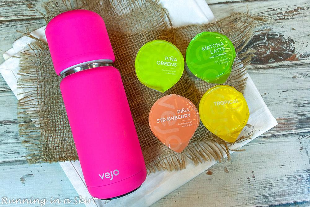 Vejo Portable Blender and pods
