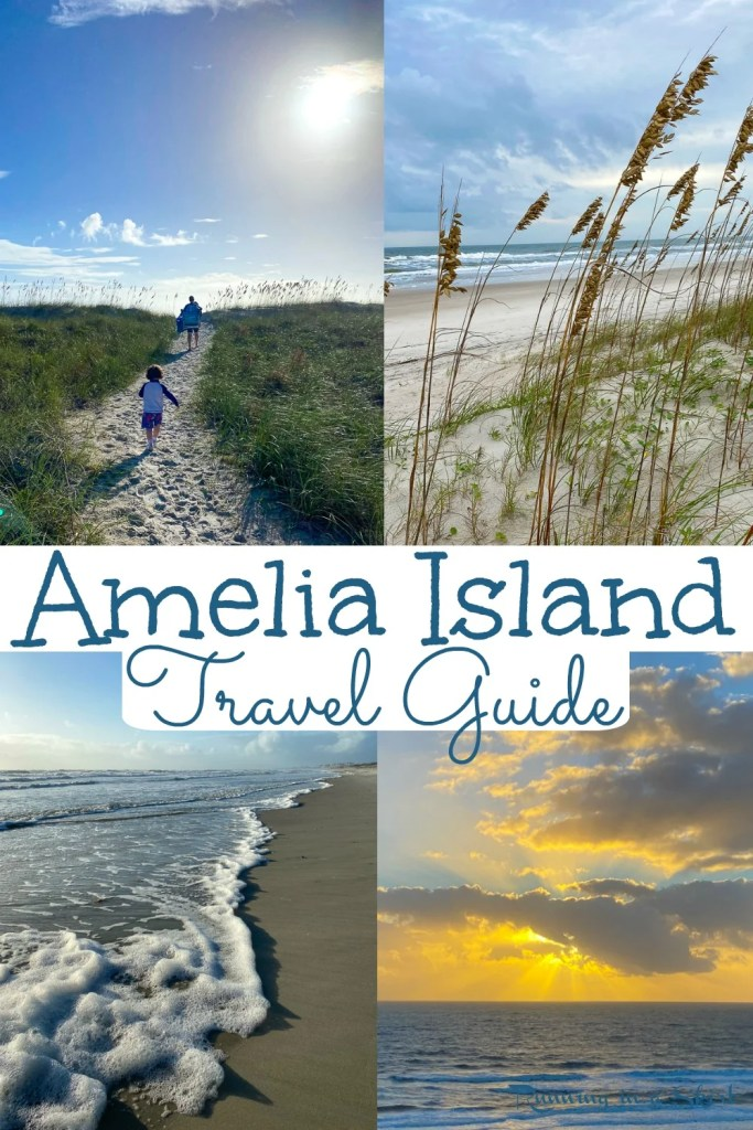 What to do in Amelia Island pinterest collage.