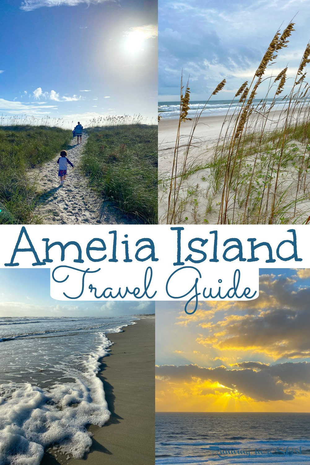 Things to Do in Amelia Island Florida - The Best Amelia Island Travel Guide with must see beach locations, restaurants, shops, places to find shells/ shark teeth, sunrise/sunset and state parks. Great with kids and adults. Find your vacations buckets lists here. / Running in a Skirt #florida #travelguide #floridatravel #travelblog #ameliaisland via @juliewunder