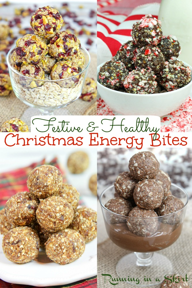 Christmas Energy Bites and Festive Energy Balls pinterest pin