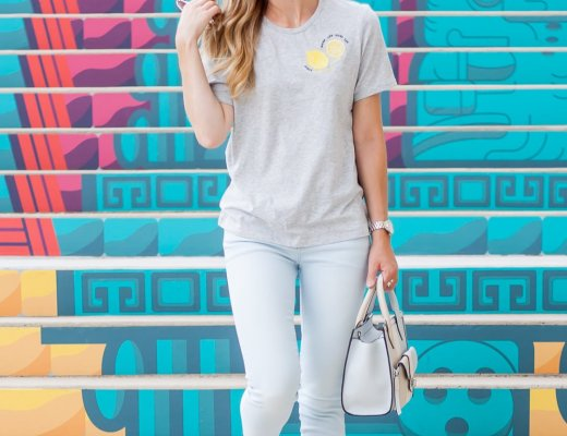 When Life GIves you Lemons (on your T-shirt)