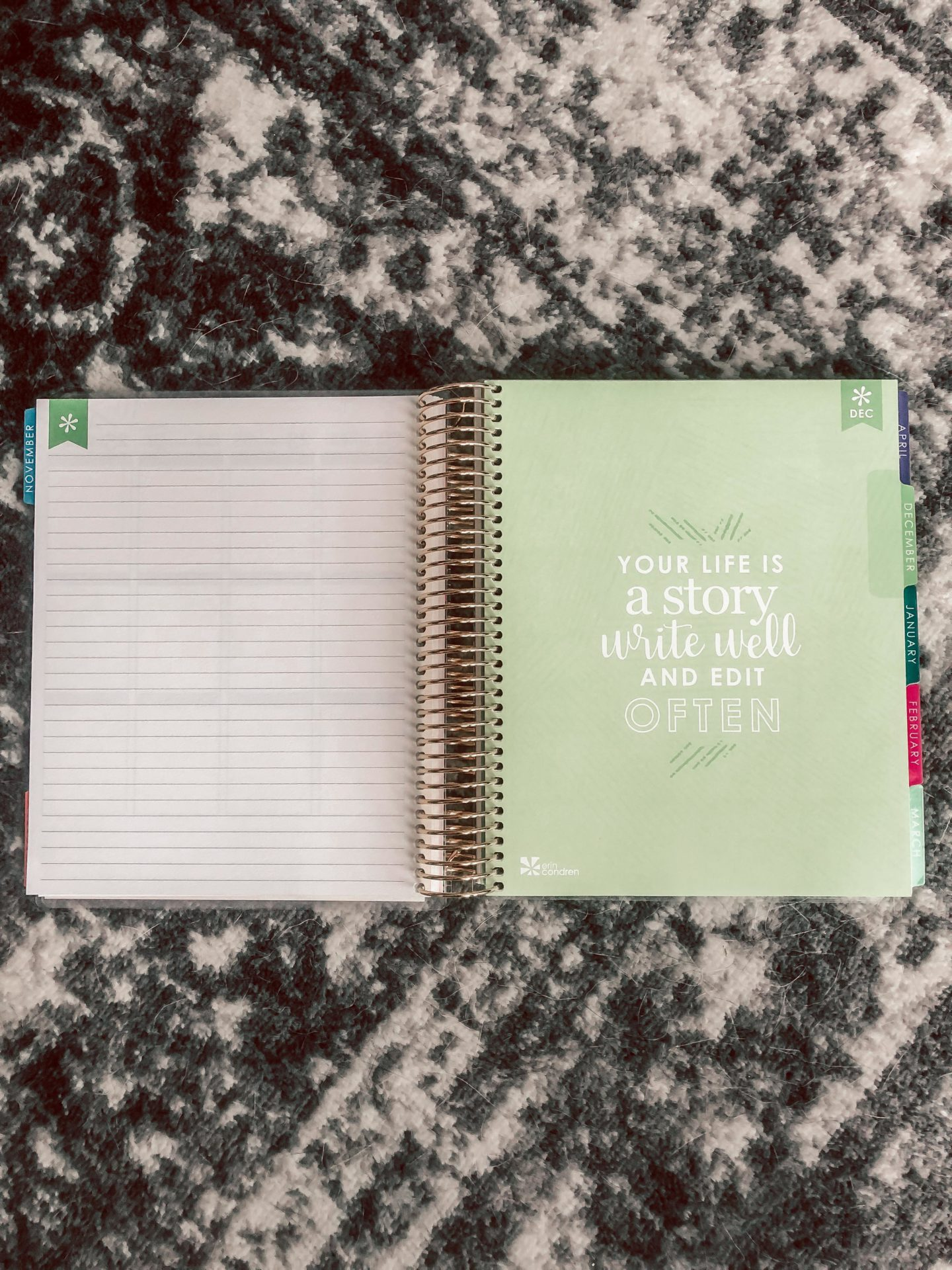 Erin Condren Planner Review - Running in Heels