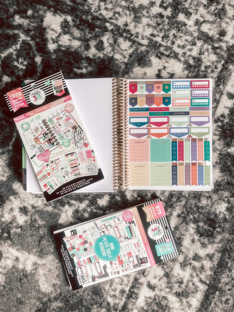 Erin Condren Planner review featured by top US life and style blog, Running in Heels.: Erin Condren Planner vs. Happy Planner