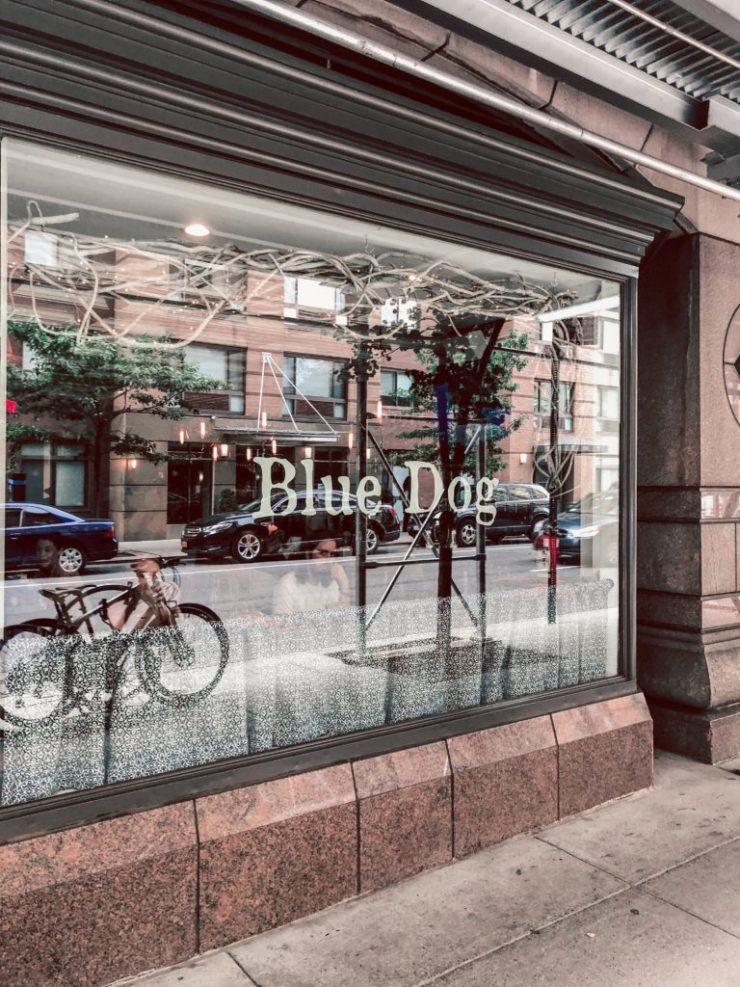 Where to eat in NYC, Blue Dog Cafe