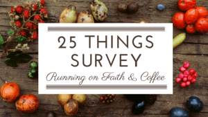 25 Things Survey