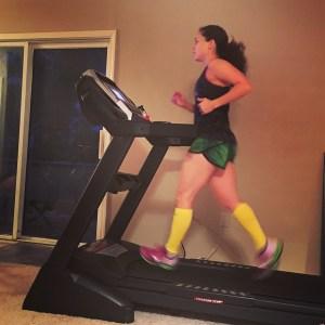 Treadmill   Running on Happy