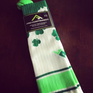 St. Patty's Socks | Running on Happy