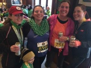Running on Happy | Kiss Me I'm Irish 10K | No Excuses Running Coach