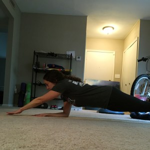 Plank with Finger Tap | Plank and Core | Running on Happy | Coaches' Corner