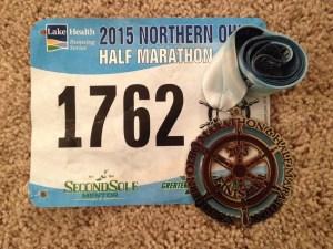 Northern Ohio Half Marathon | Favorite Race Medal | Friday Five | Running on Happy