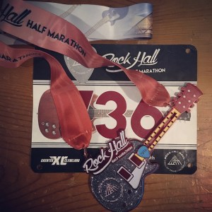 Rock Hall Half Marathon | Race Recap | Running on Happy