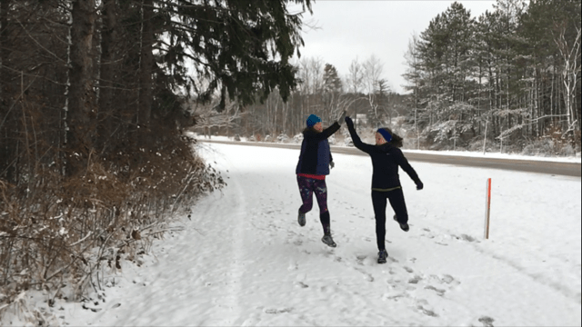 Coaching, Running, and a Family Staycation | Running with Friends | Running on Happy