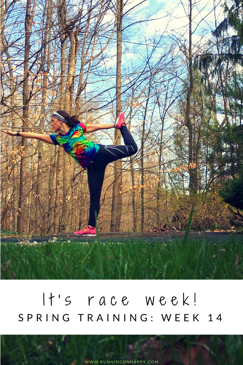 It's officially race week! I've already started second-guessing everything despite having a solid training cycle. What do you second-guess during race week? -Running on Happy