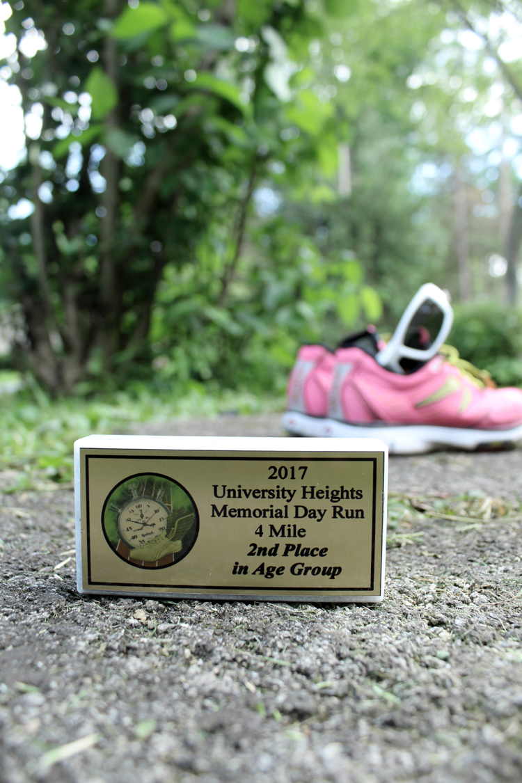 Memorial Day 4-Mile Recap + Taper Time!   Running on Happy