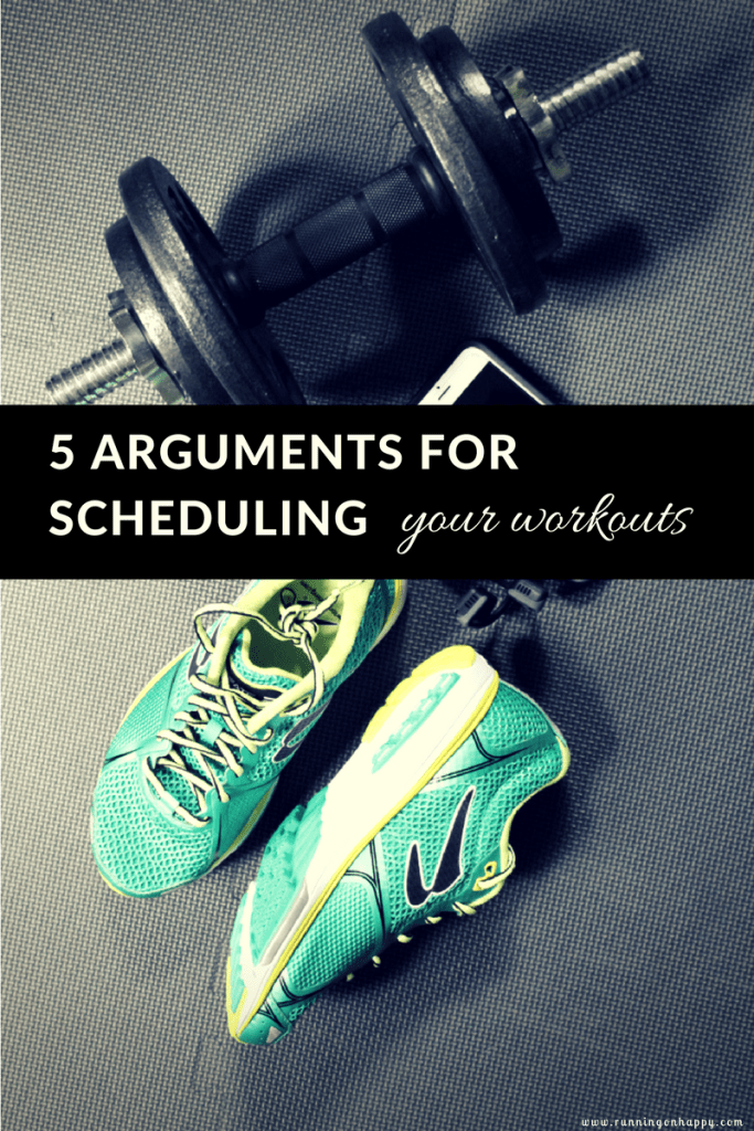 Keeping a workout schedule will better equip you to tackle the next challenge in your plan and is a good idea regardless of what kind of training you do.