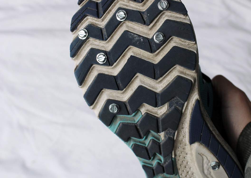 Do-It-Yourself Studded Running Shoes: for Snow, Ice, and Trails | Running on Happy
