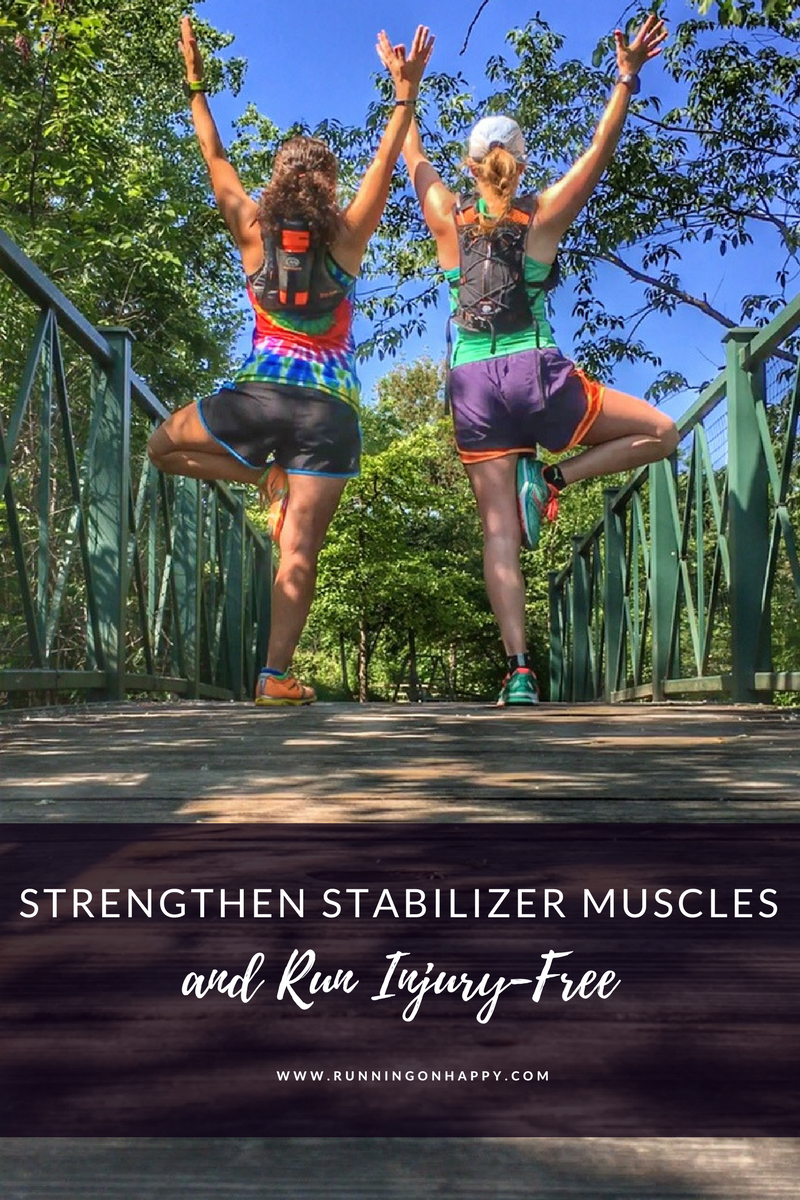 All runners should strengthen stabilizer muscles as part of their training regimen. Find out why it's so important and how you can add simple exercises to help!