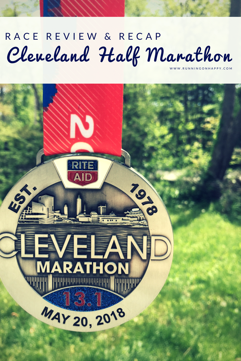The 2018 Cleveland Half Marathon may be over but I've got plenty of lessons to learn from it. Here's my review of the Rite Aid Cleveland Marathon and race recap!