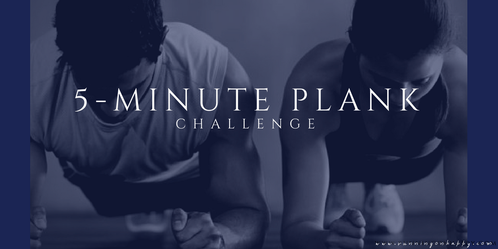 5-Minute Plank Challenge | Running on Happy