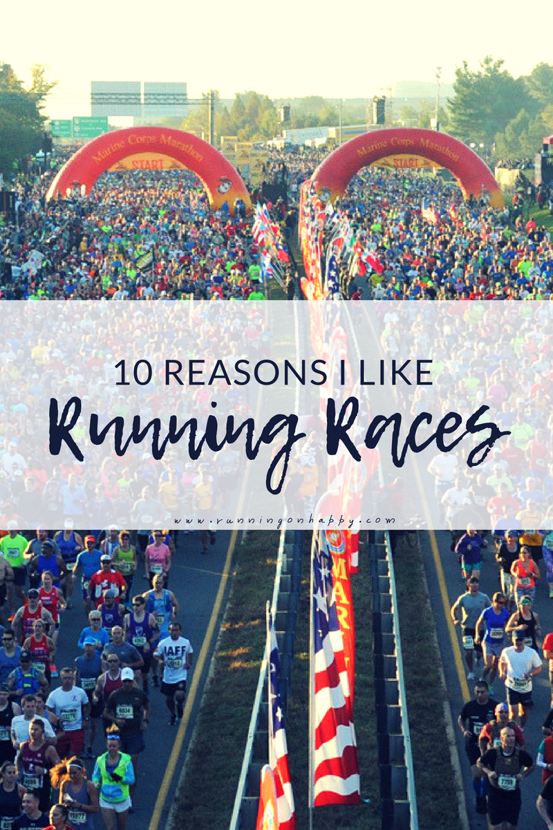 Distance training can be tough and a little monotonous. By running races and a little creativity, you can train well and have fun doing it!
