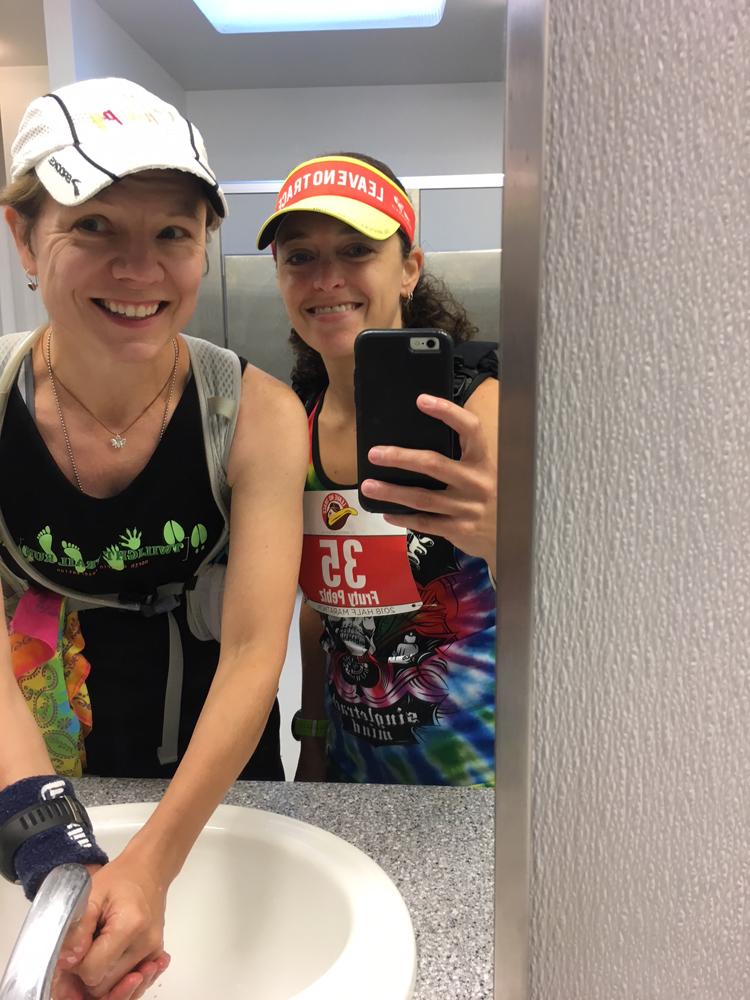 """Leave No Trace Trail Half Marathon Recap | Running on Happy"