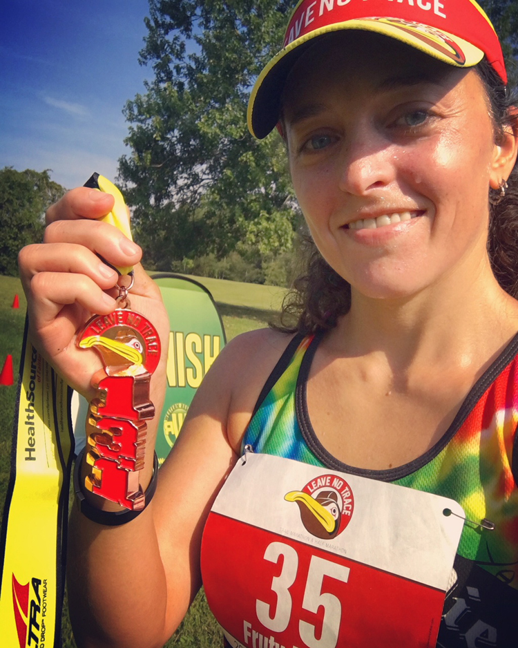 Leave No Trace Trail Half Marathon Recap | Running on Happy