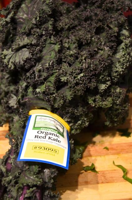 Fresh Organic Red Kale