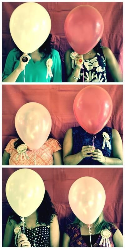Stagette Balloon Photobooth Idea