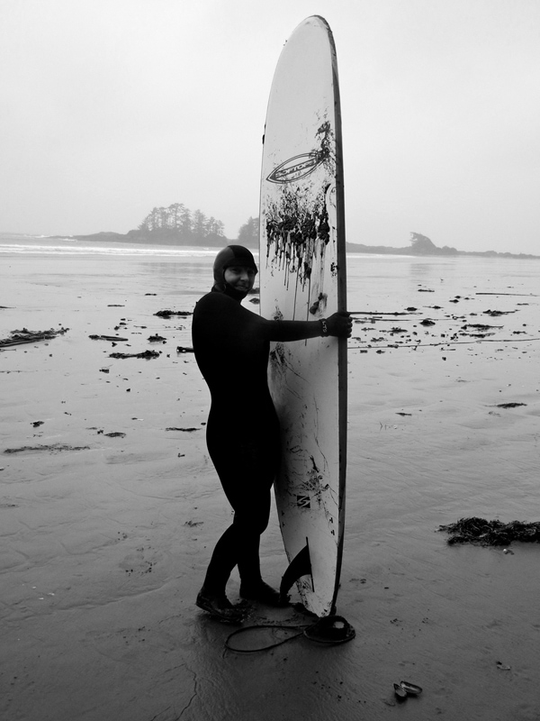 Surfing in Tofino   Running on Real Food