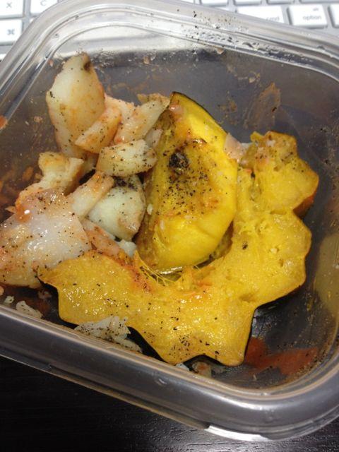 Roasted Squash and Potato