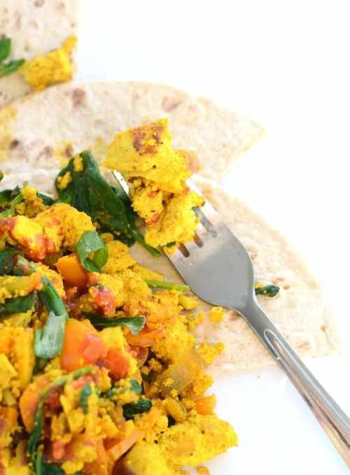 How to Make Tofu Scramble for a Healthy Vegan Breakfast