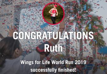 WINGS FOR LIFE RUN 5TH MAY 2019 RUTH FARRELL