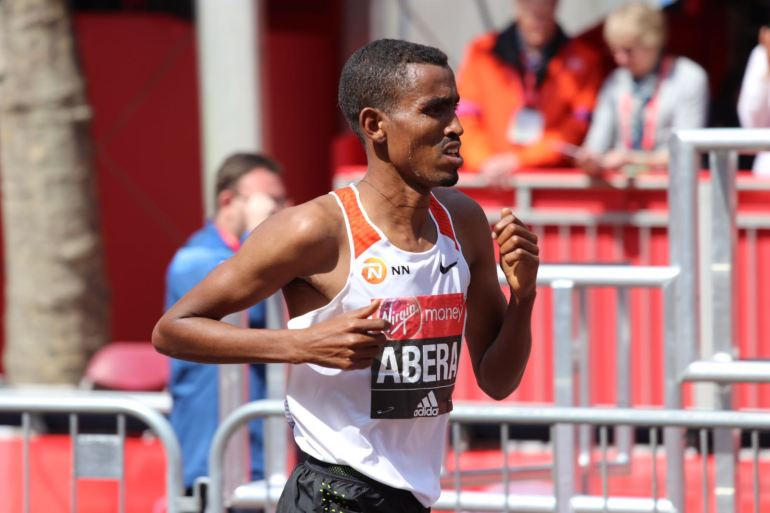 Tesfaye Abera Amsterdam Marathon