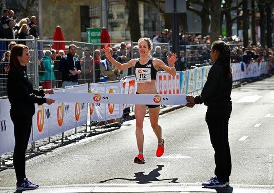 Marathon Rotterdam Inge de Jong