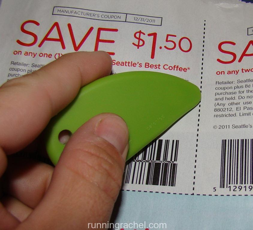 The Best Way To Cut Coupons The Slice Safety Cutter Running Rachel