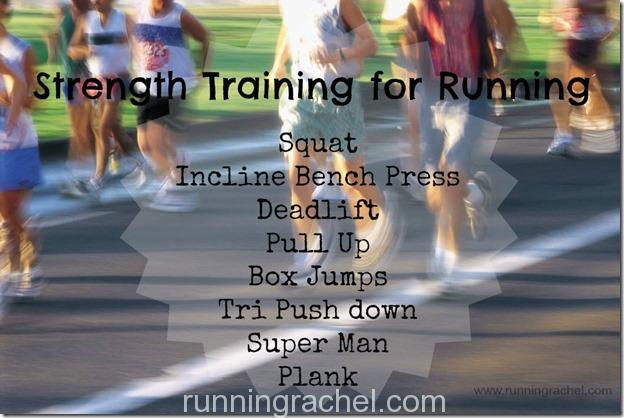 strength training for running via @runningrachel