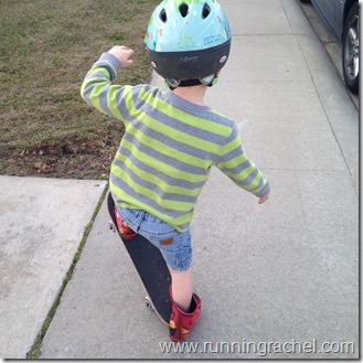 little skateboard boy