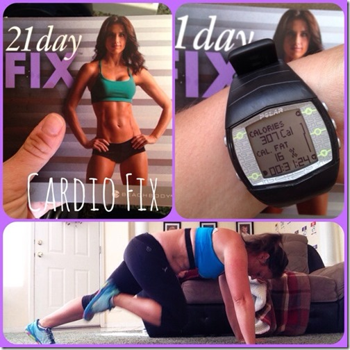 21 day fix cardio fix workout