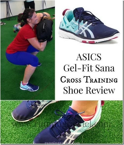 asics gel fit sana shoe review
