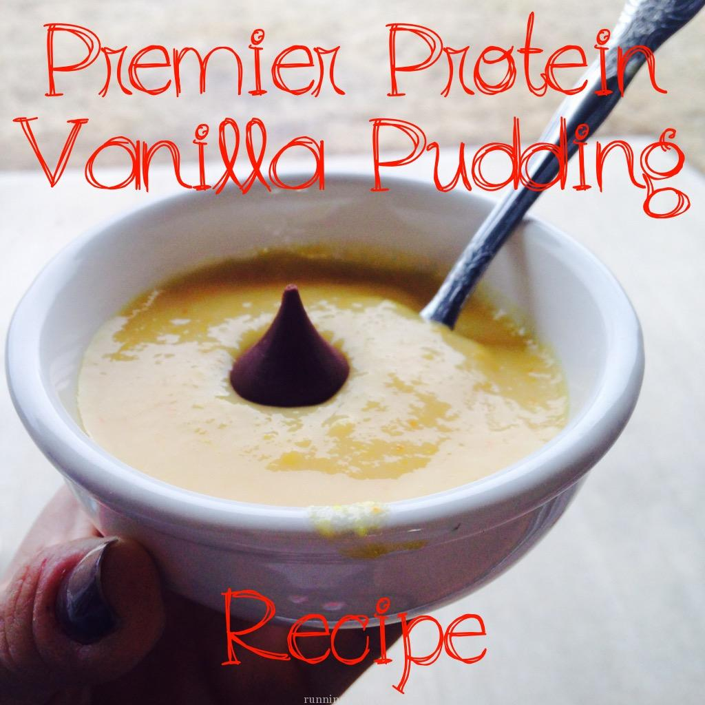 Good Energy. Tasty Treat. Premier Protein Vanilla Pudding Snack.