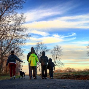 #ad Family Hikes #HealthierTogether