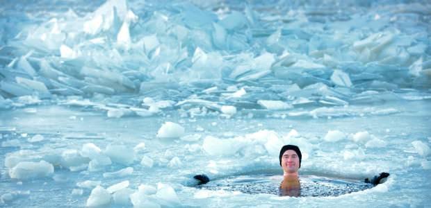 Ice Bath After Marathon