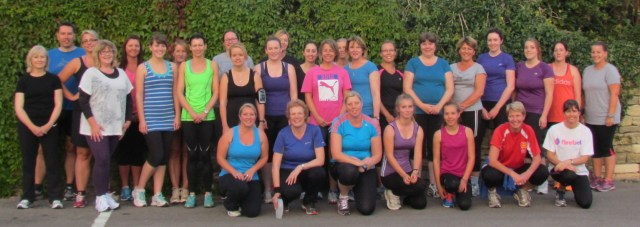 keen new runners 8th September 2014